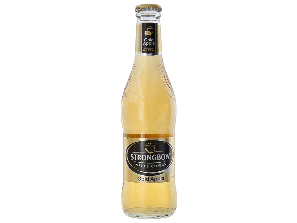 Thùng 24 chai Strongbow táo 330ml 1