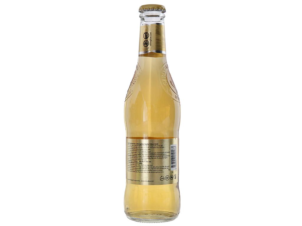 Thùng 24 chai Strongbow táo 330ml 2