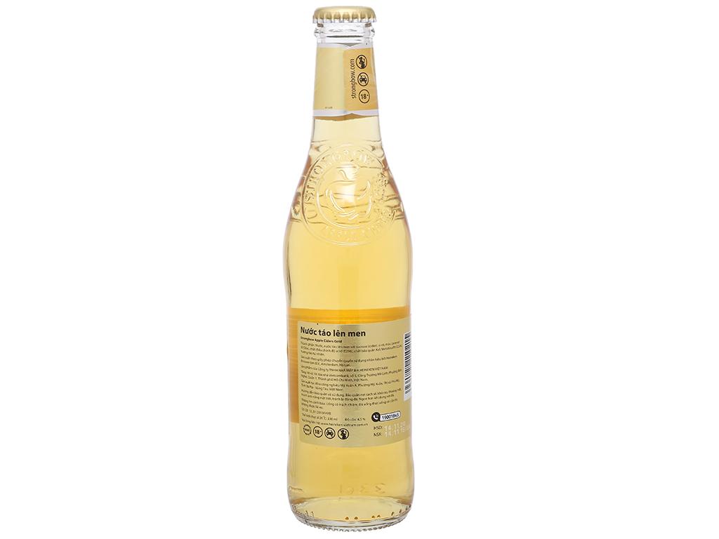 Thùng 24 chai Strongbow táo 330ml 7