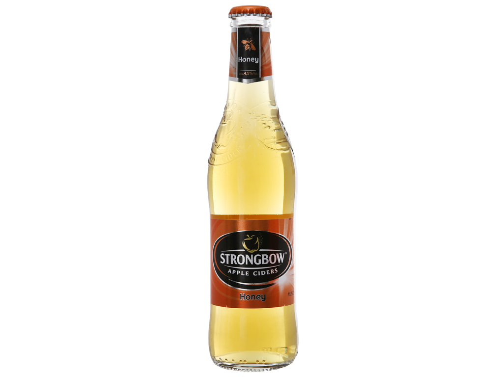 Strongbow mật ong chai 330ml 1