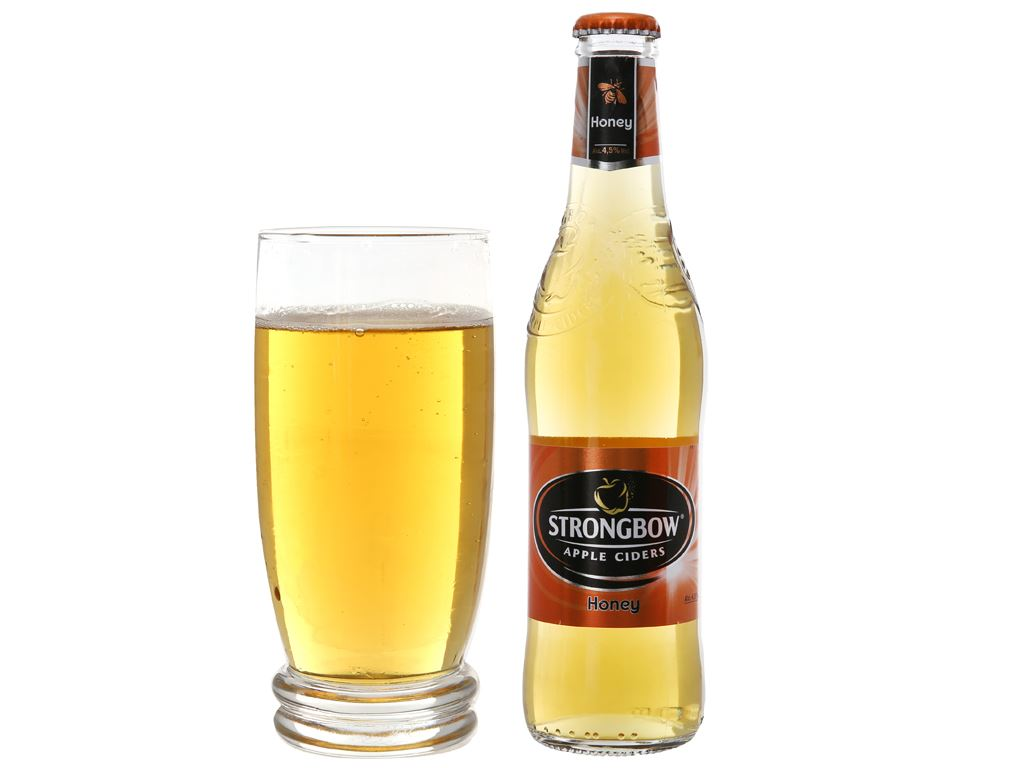 Strongbow mật ong chai 330ml 5