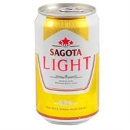 Bia Sagota Light lon 330ml