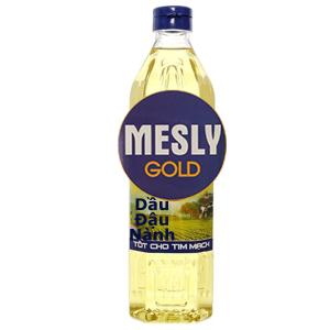 Dầu đậu nành Mesly Gold 1 lít