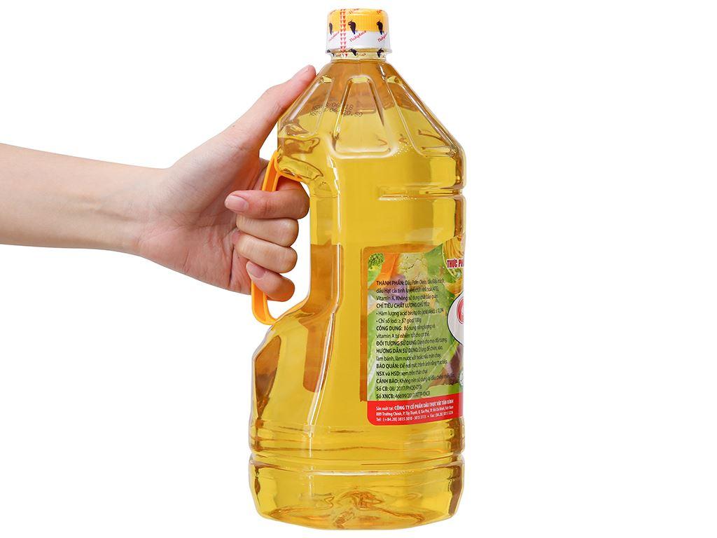 Dầu thực vật Nakydaco Cooking oil chai 2 lít 2