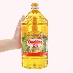 Dầu thực vật Nakydaco Cooking Oil Nutri Plus can 2 lít