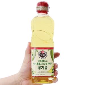 Dầu đậu nành Beksul chai 500ml