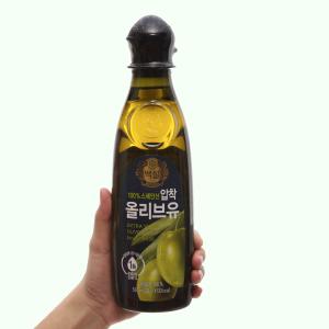 Dầu olive Extra Virgin Beksul chai 500ml