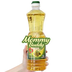 Dầu ăn thượng hạng Mommy Buddy chai 1 lít