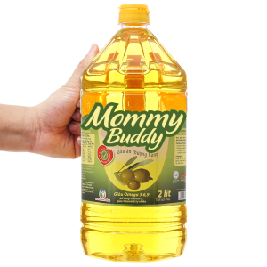Dầu ăn thượng hạng Mommy Buddy bình 2 lít