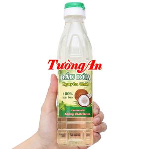 Dầu dừa nguyên chất 100% Tường An chai 400ml