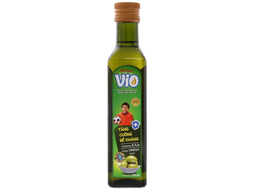Dầu olive cho bé Tường An Vio Extra chai 250ml 1