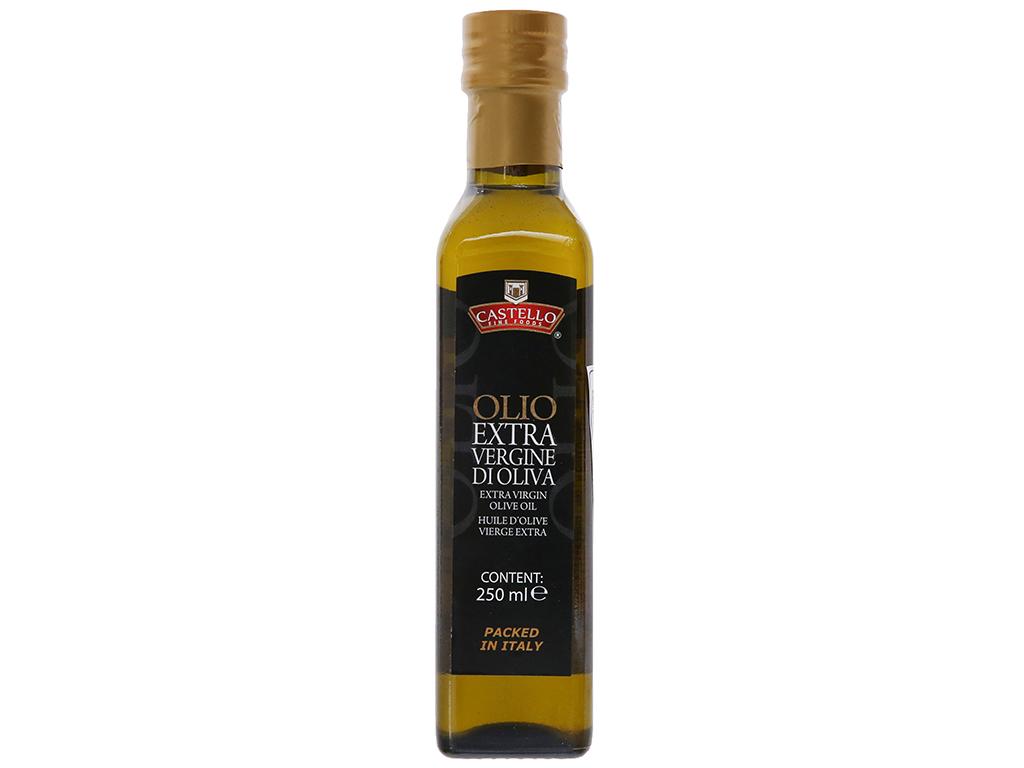 Dầu olive Extra Virgin Castello chai 250ml 1
