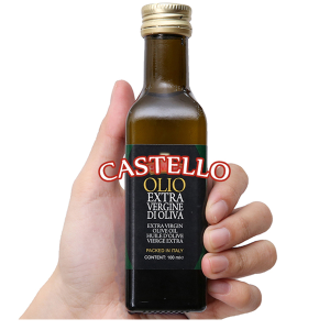 Dầu olive Extra Virgin Castello chai 100ml