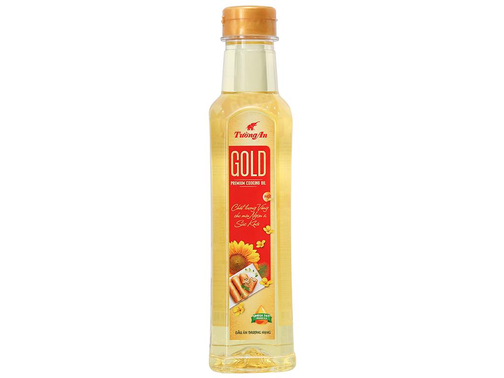 Dầu ăn cao cấp Tường An Gold chai 400ml 1
