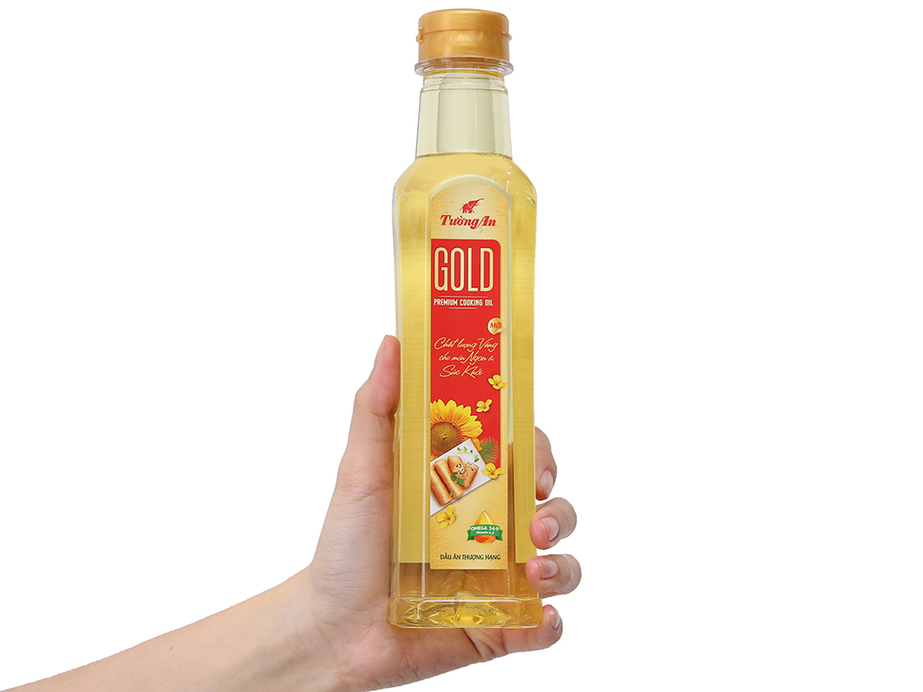 Dầu ăn cao cấp Tường An Gold chai 400ml 3