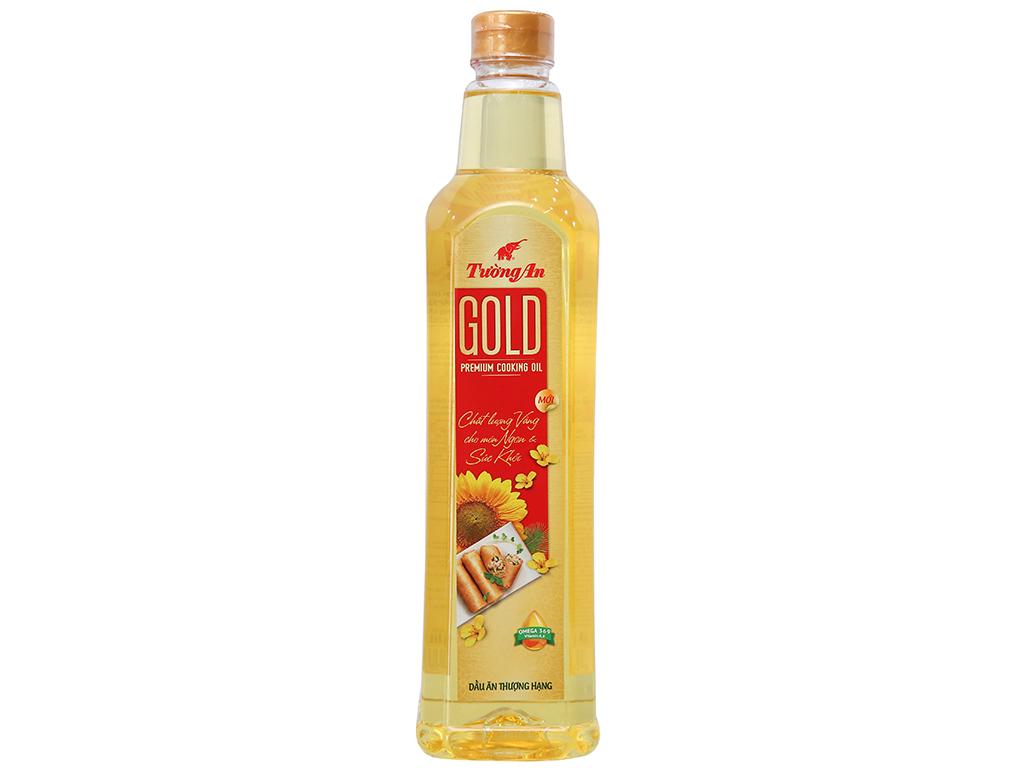 Dầu ăn cao cấp Tường An Gold chai 1 lít 1