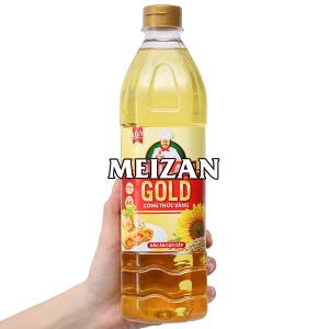 Dầu ăn cao cấp Meizan Gold chai 1 lít