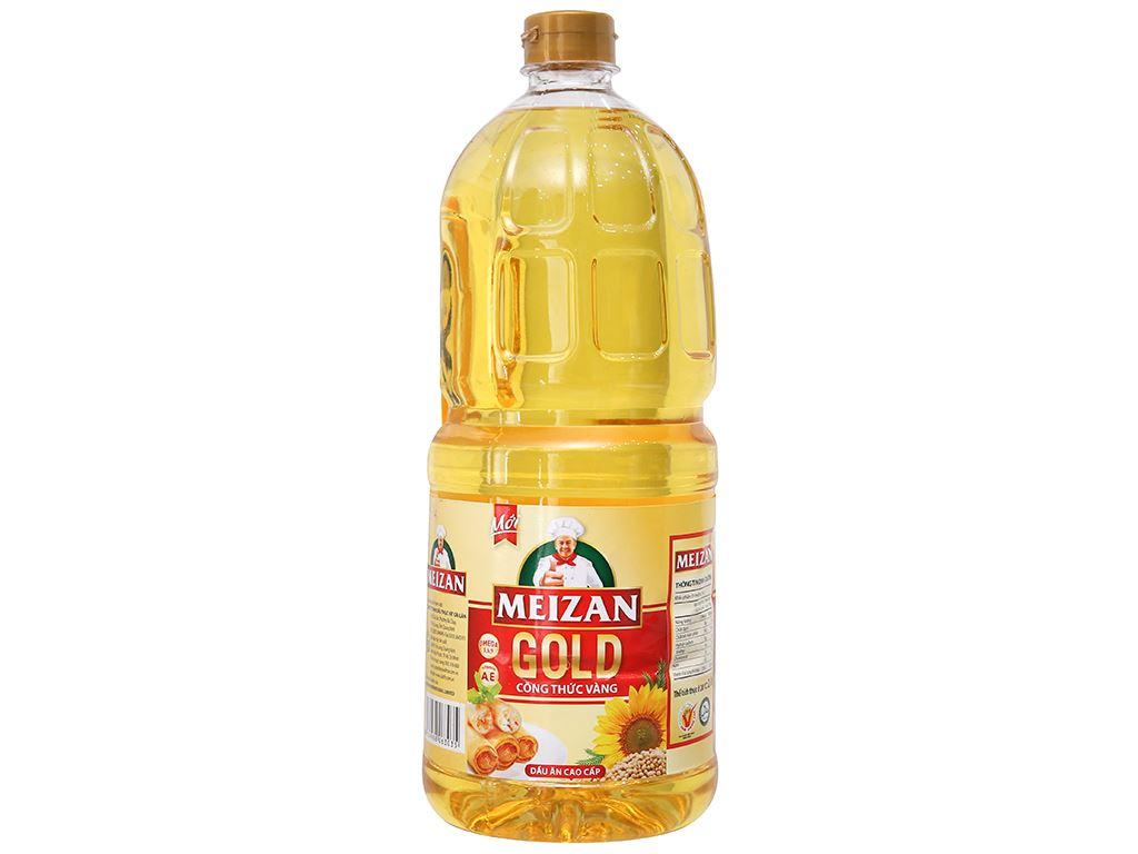 Dầu ăn cao cấp Meizan Gold chai 2 lít 1