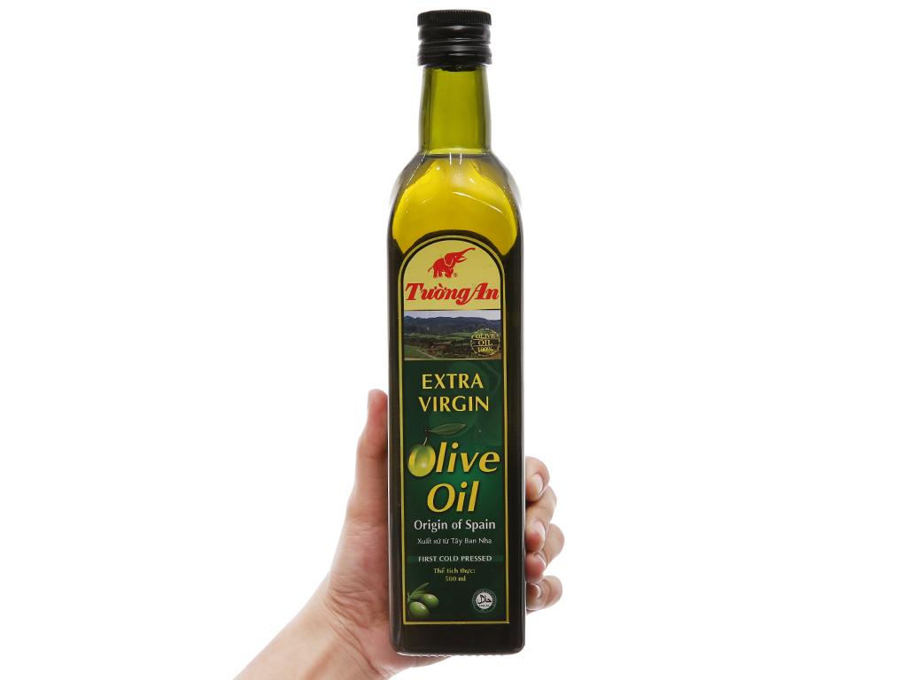 Dầu olive Extra Virgin Tường An chai 500ml 3