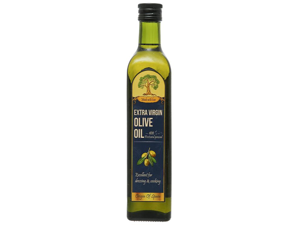 Dầu olive Extra Virgin Tường An chai 500ml 5