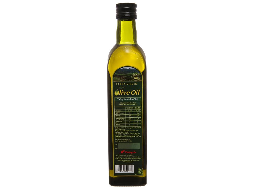 Dầu olive Extra Virgin Tường An chai 500ml 2