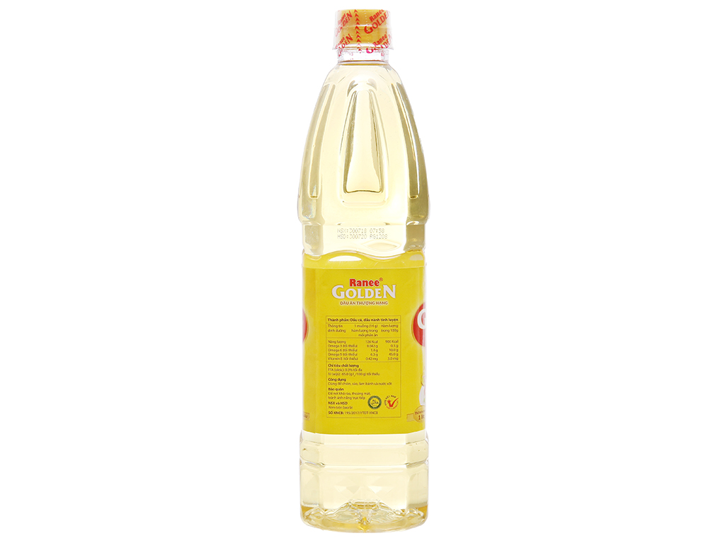 Dầu cá Ranee Golden chai 1 lít 2