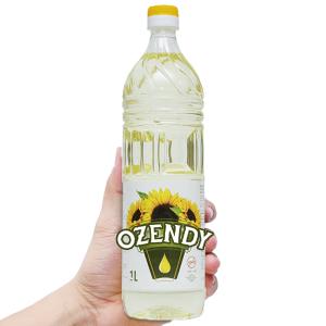 Dầu hướng dương Ozendy chai 1 lít