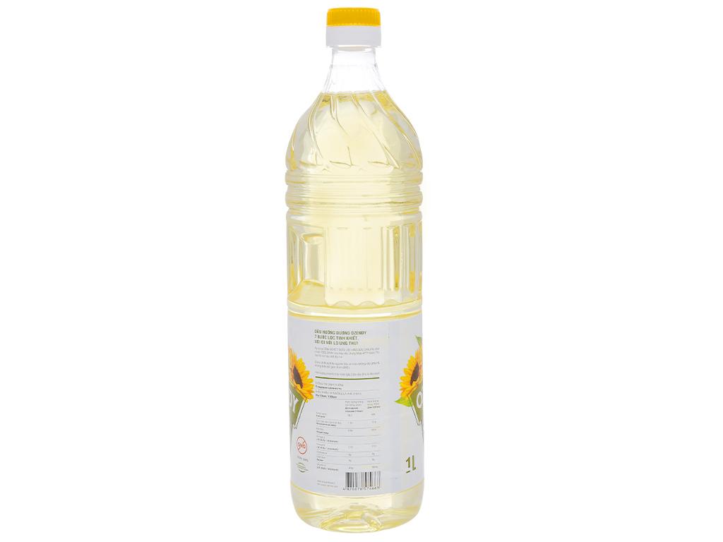 Dầu hướng dương Ozendy chai 1 lít 2