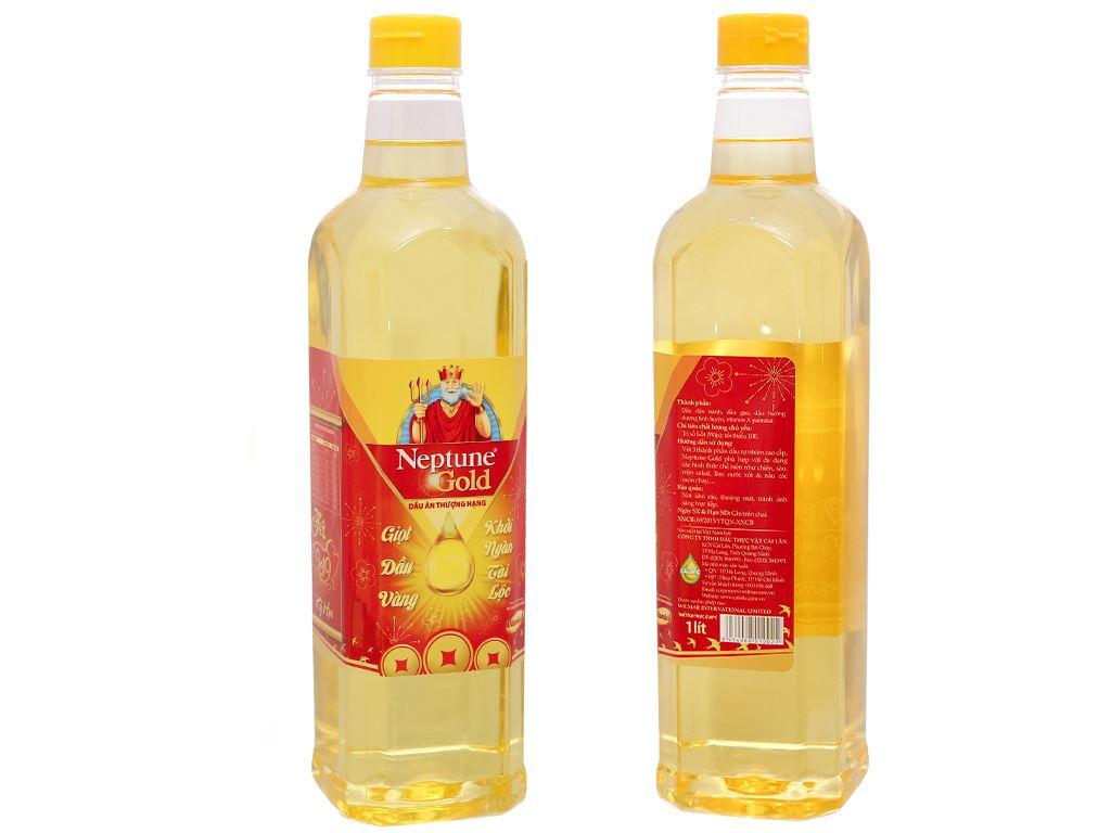 Hộp quà 2 chai dầu ăn Neptune 1 lít và hạt nêm Neptune 250g 3