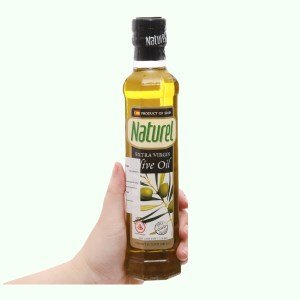 Dầu olive Extra Virgin Naturel chai 250ml