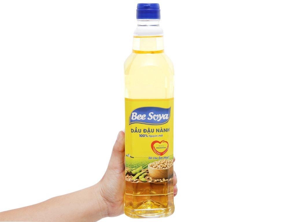 Dầu đậu nành Bee Soya Nakydaco chai 1 lít 5