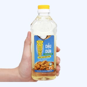Dầu dừa tinh luyện Vietcoco chai 500ml
