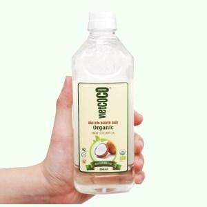 Dầu dừa nguyên chất Organic Vietcoco chai 500ml