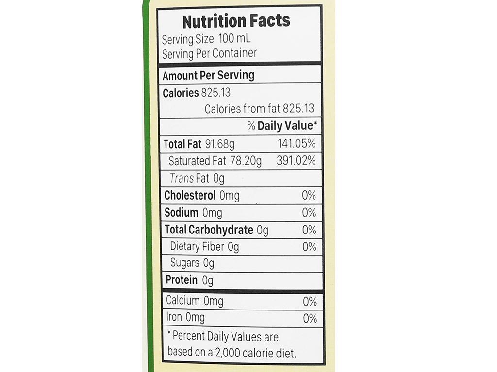 Dầu dừa nguyên chất Organic Vietcoco chai 1 lít 4