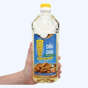 Dầu dừa tinh luyện Vietcoco chai 1 lít