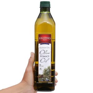 Dầu Olive Pomace Palermo chai 1 lít