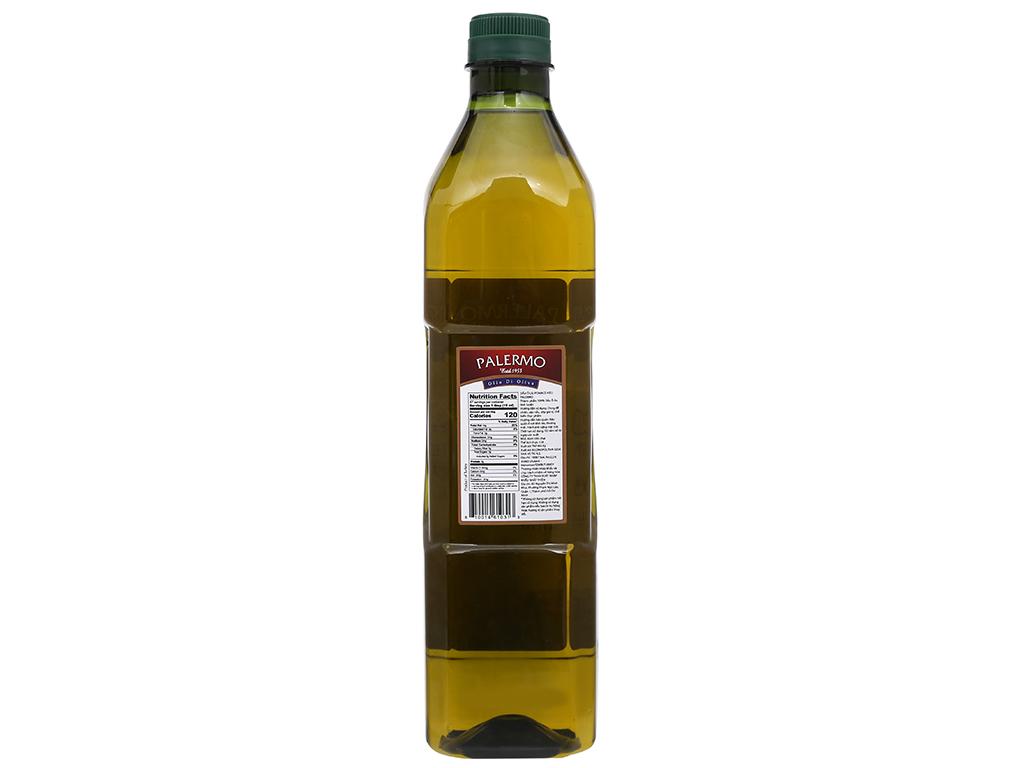 Dầu Olive Pomace Palermo chai 1 lít 2