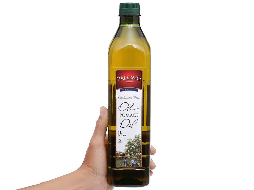 Dầu Olive Pomace Palermo chai 1 lít 5