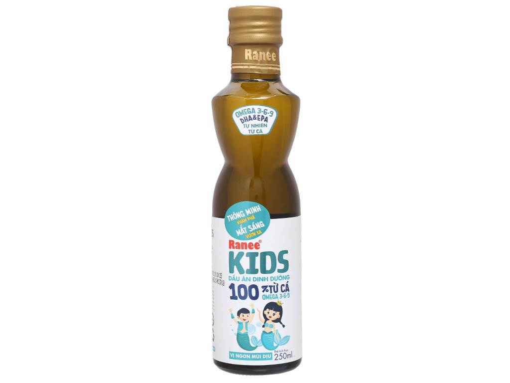 Dầu cá dinh dưỡng Ranee Kids chai 250ml 1