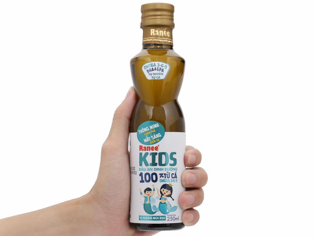 Dầu cá dinh dưỡng Ranee Kids chai 250ml 5