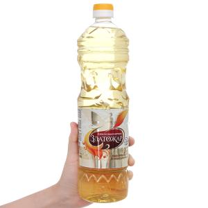 Dầu hướng dương Zlatoza chai 1 lít