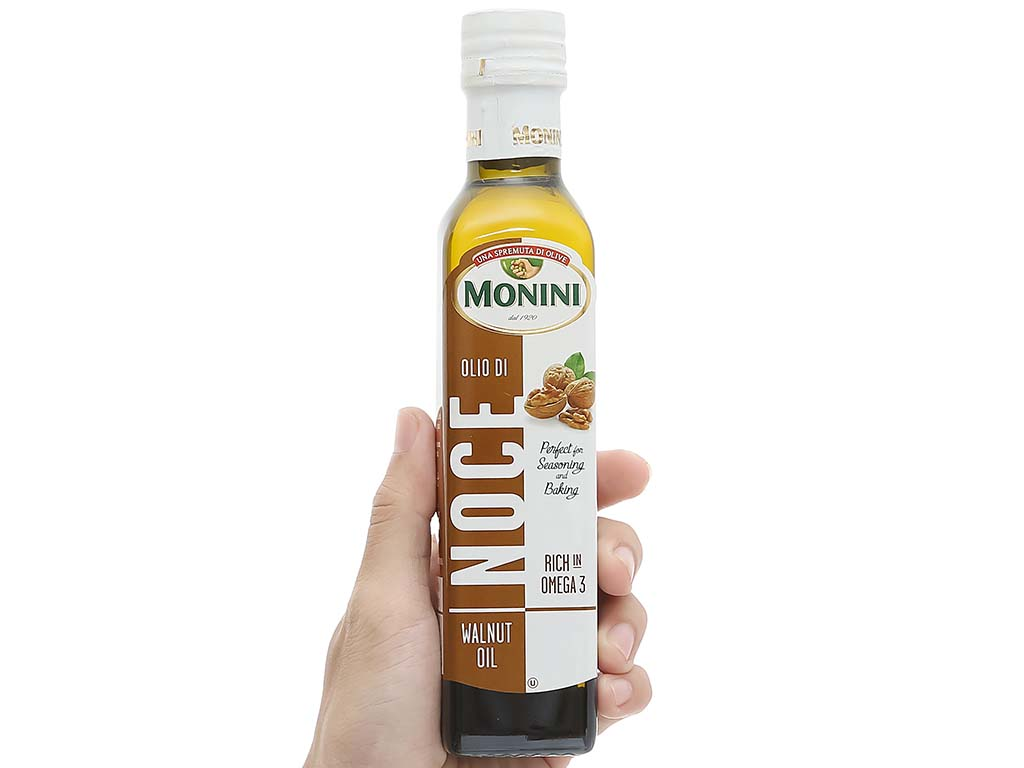 Dầu óc chó Monini chai 250ml 5