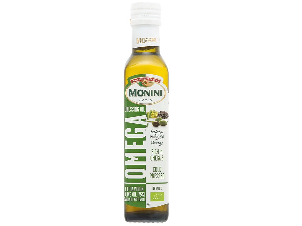 Dầu Omega Monini chai 250ml 1