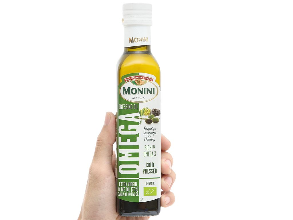 Dầu Omega Monini chai 250ml 6