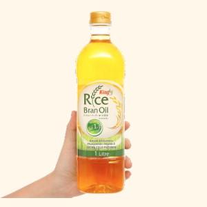 Dầu gạo nguyên chất King chai 1 lít