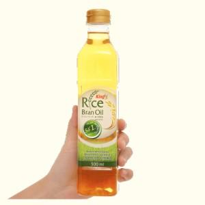 Dầu gạo nguyên chất King chai 500ml
