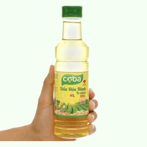Dầu đậu nành tự nhiên Coba chai 400ml