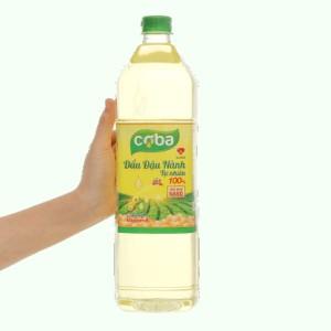 Dầu đậu nành tự nhiên Coba can 2 lít