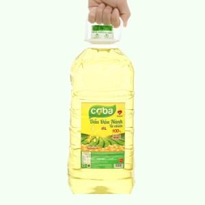 Dầu đậu nành tự nhiên Coba can 5 lít