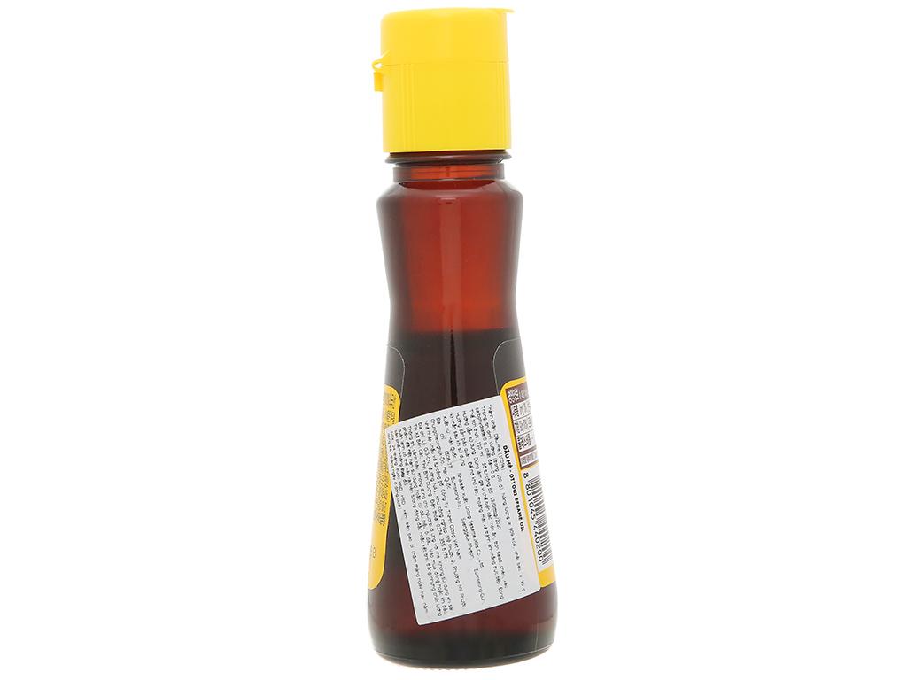 Dầu mè Ottogi chai 110ml 2